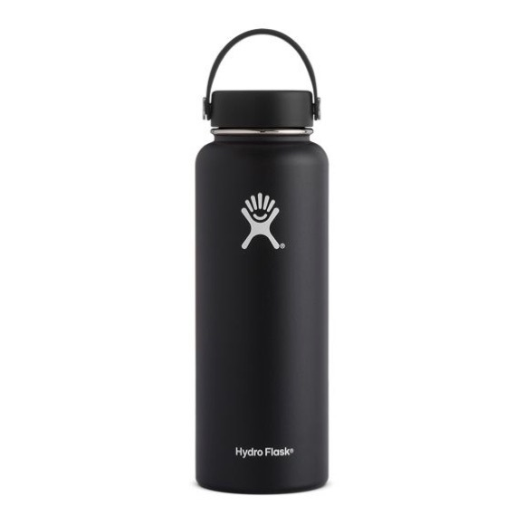 Hydroflask Other - Hydroflask Black 40oz Wide Mouth